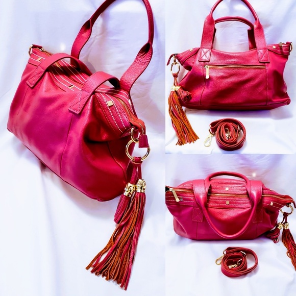 Cuore & Pelle Handbags - Cuore & Pelle Amelia Tote Leather Shoulder Bag💋